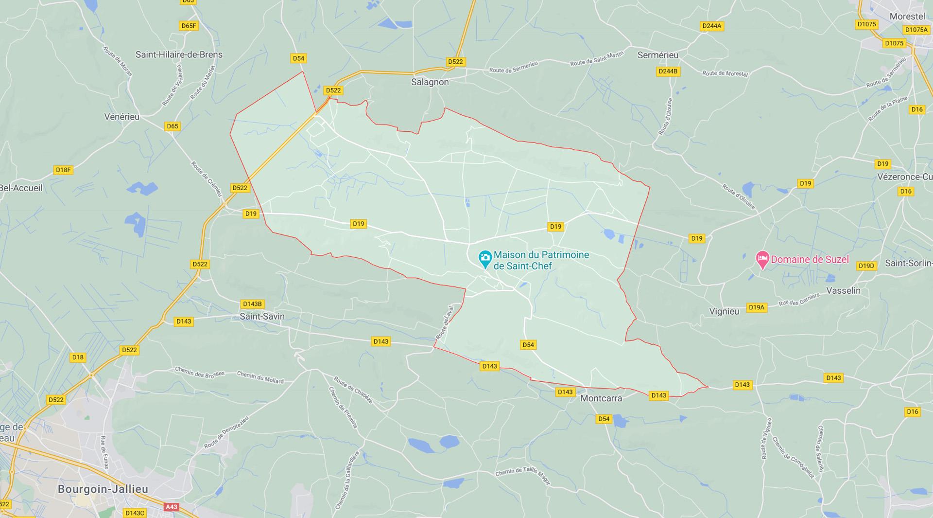 Contact : Cliquez pour agrandir et consulter le plan sur Google Maps